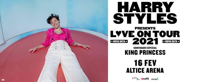 Harry Styles lisboa Altice Arena