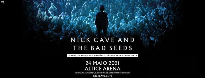 Nick Cave and The Bad Seeds lisboa
