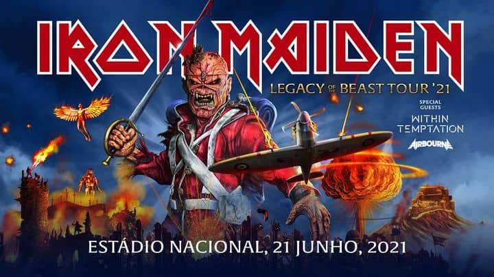 Iron Maiden Lisboa