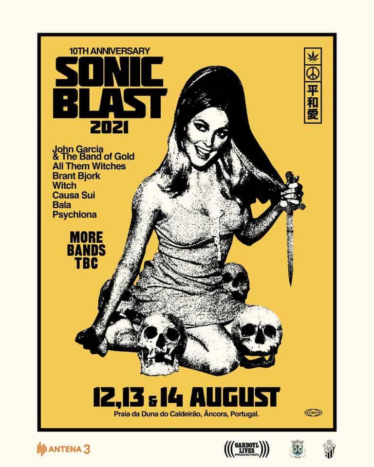 sonicblast fest cartaz 2021