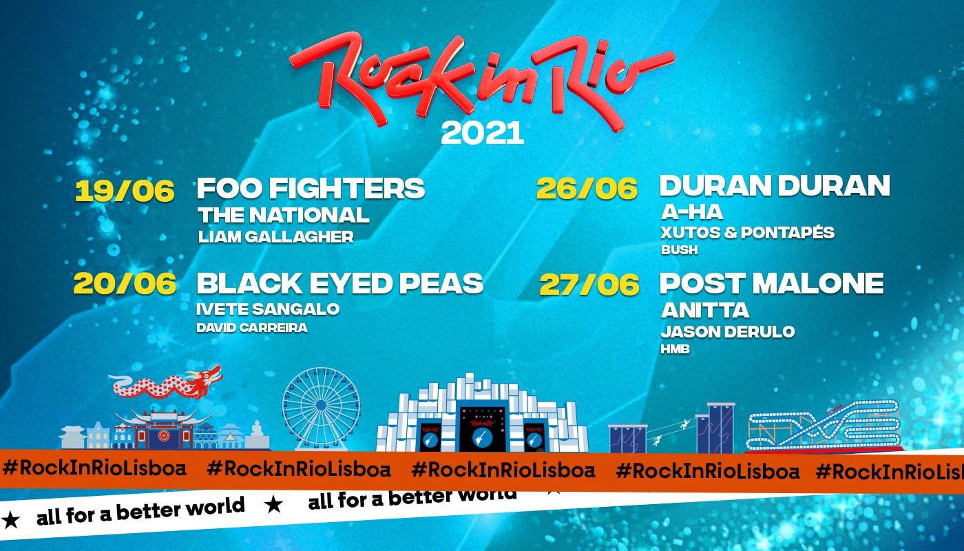 rock in rio lisboa cartaz 2021