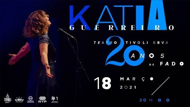 KATIA GUERREIRO - 20 ANOS DE FADO