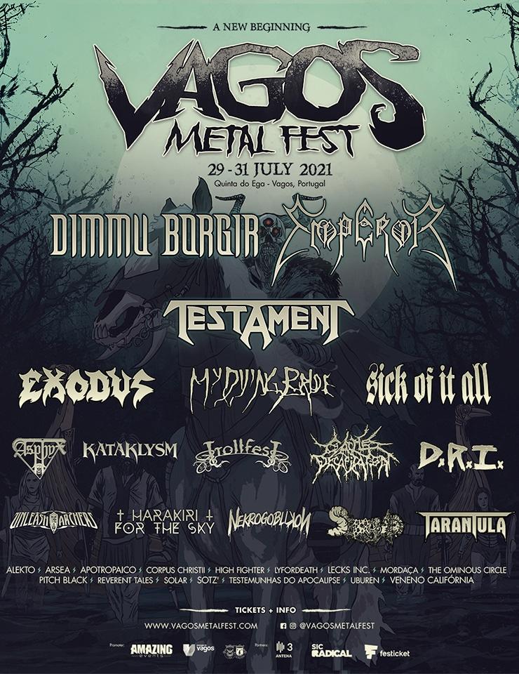 Vagos Metal Fest cartaz 2021
