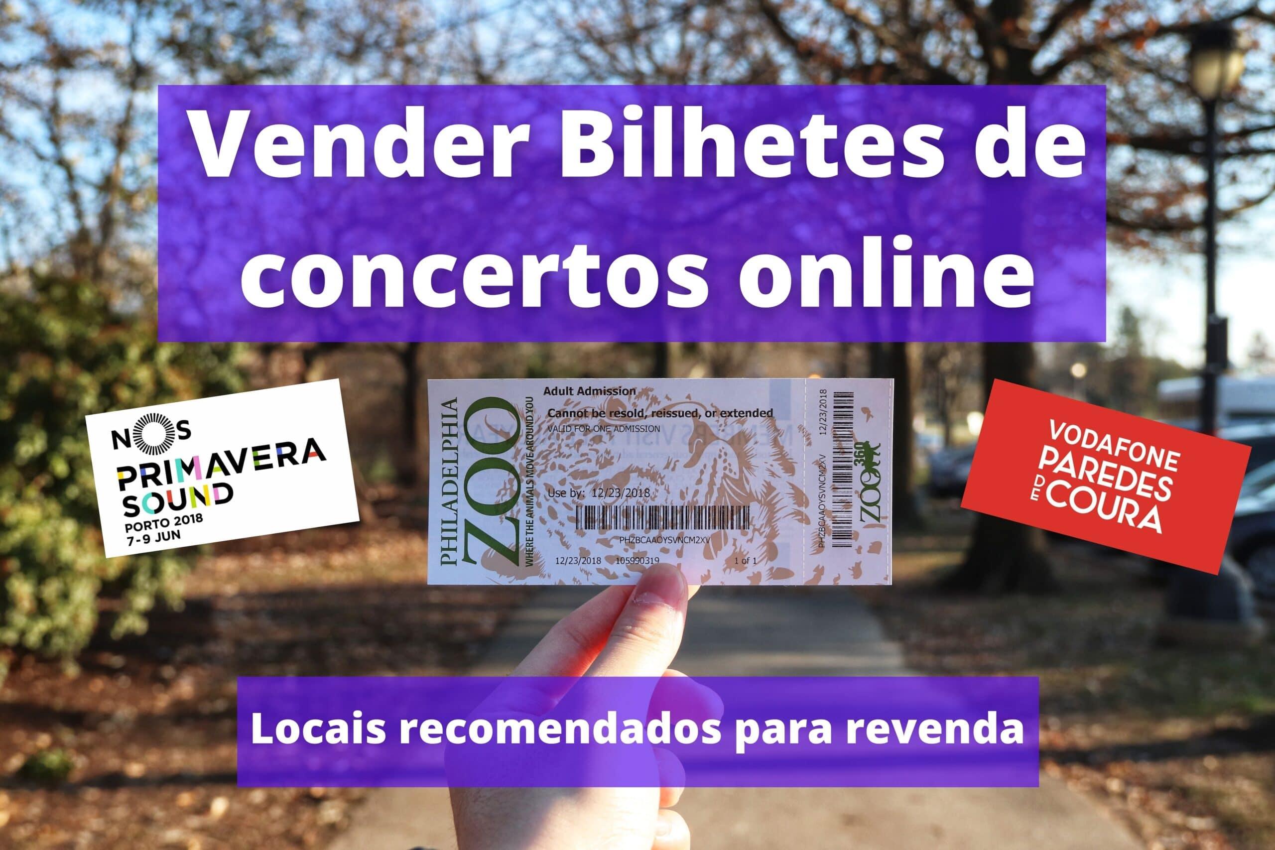 Como Vender Bilhetes de Concerto Online?