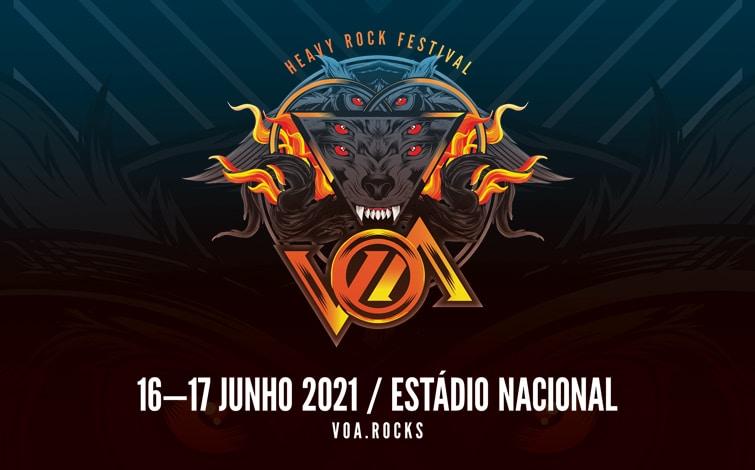 cartaz VOA Heavy Rock Festival 2021